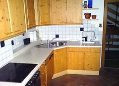 Küchenbeispiel im Ferienhaus Tirol im Zillertal