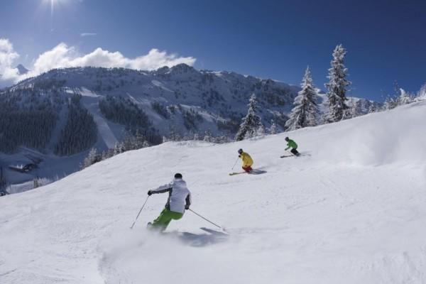 Skireise auf dem Penken