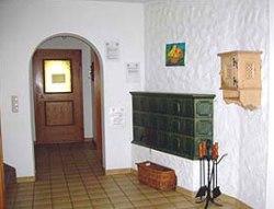 Eingangsbereich Ferienhaus Finkenberg