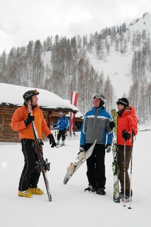 Gruppenfreizeit - Skireisen in die Schweiz