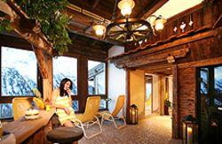 Mitbenutzung der Sauna im Hotel des Clubdorfes in Sölden