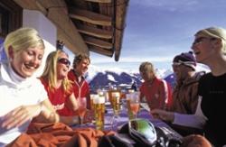 Apres Ski auf den Berghütten in Davos