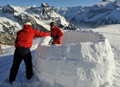 Iglubau Skiregion Engelberg