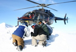 Helikopter Skiiing