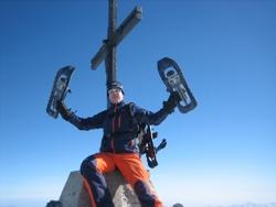Berggipfel Skitour