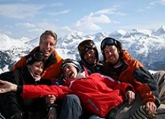 Friends Woche - Gruppenskireisen in die Schweiz