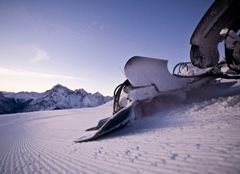 Skifahren im Skigebiet Engadin Scuol