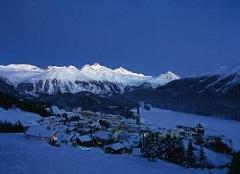 Winterurlaub St. Moritz Oberengadin Schweiz
