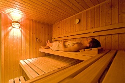 Sauna in Verbier