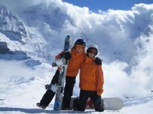 Skigebietstouren in Flims Laax Falera