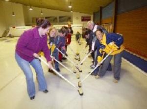 Curling - Freizeit im Urlaub