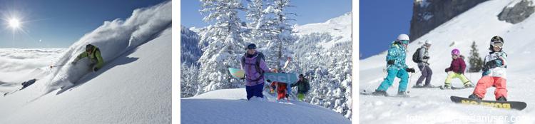 Skigebiet Flims-Laax