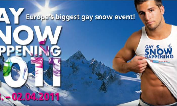Gay Snowhappening in Sölden