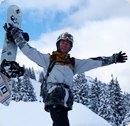 Der Snowboardcrack von Montafon