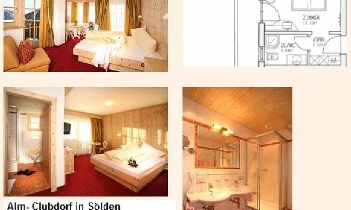 4 Sterne Hotel im Almferienclub Silbertal Sölden